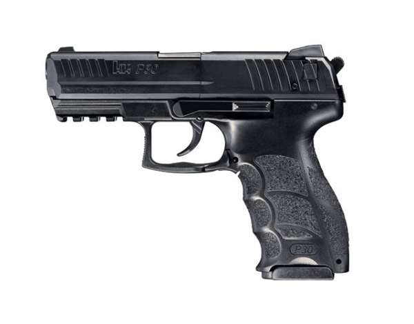 Heckler & Koch P30, Co2 Pistole, 4.5mm BB & Diabolos
