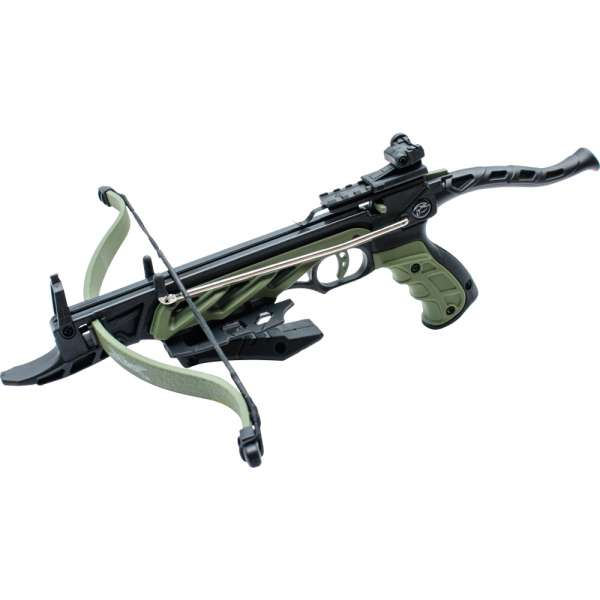 Armbrustpistole Alligator grün, 80lbs / 35kg