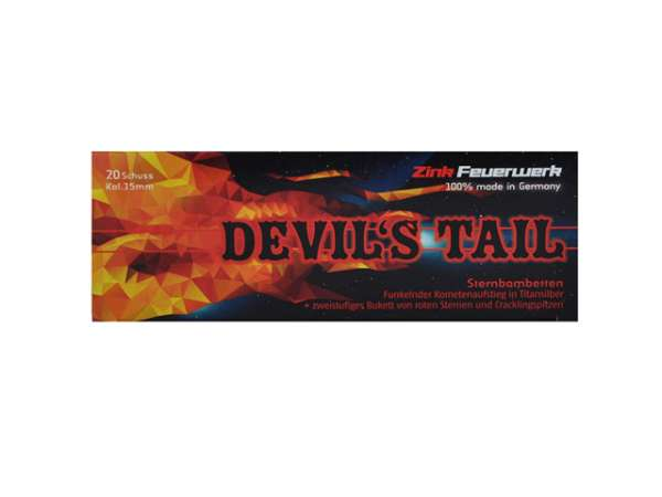 Zink Devil's Tail 15 mm 20er-Packung