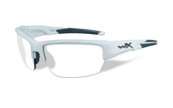 WileyX Saint Set R: weiss glänzend
