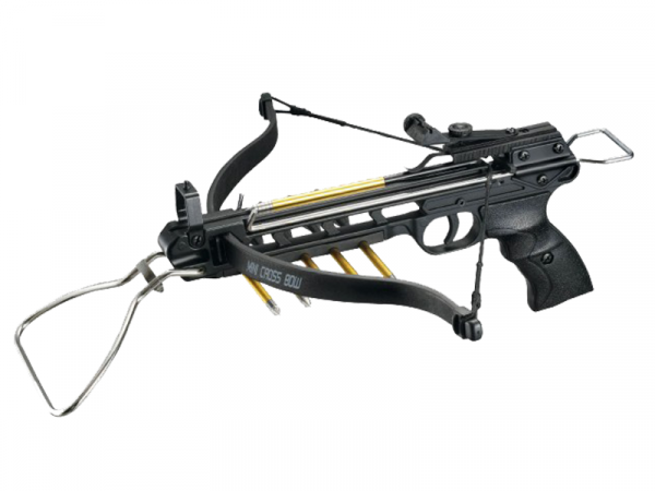 Pistolenarmbrust Viper 80lbs, inkl. 3 Aluminium Pfeilen
