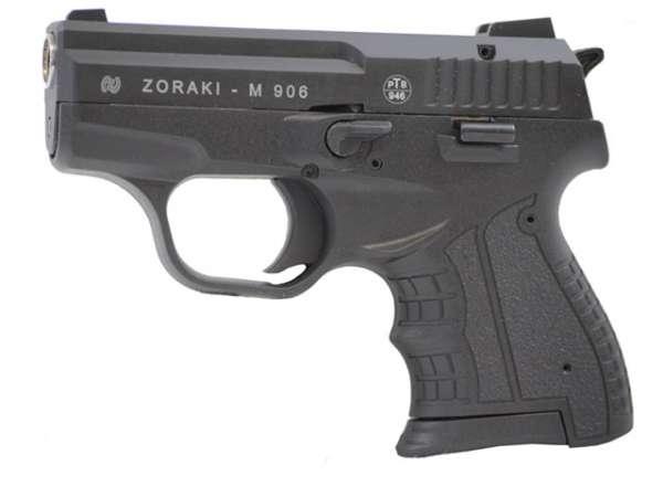 Zoraki 906 Schreckschusspistole / Gaspistole schwarz-chrom