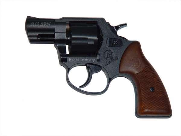 Röhm RG 59, schwarz, Schreckschussrevolver