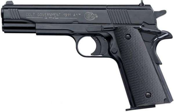 Colt Government 1911 A1, schwarz, C02 Pistole