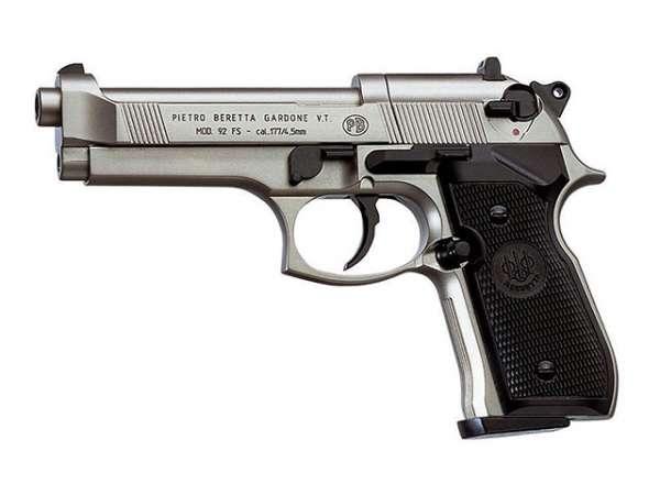 Beretta M 92 FS, vernickelt, C02 Pistole