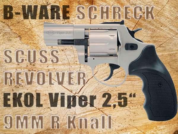 """B-Ware Schreckschussrevolver GSG Viper 2,5"""" 9mm R Knall bicolor 2.Wahl"""