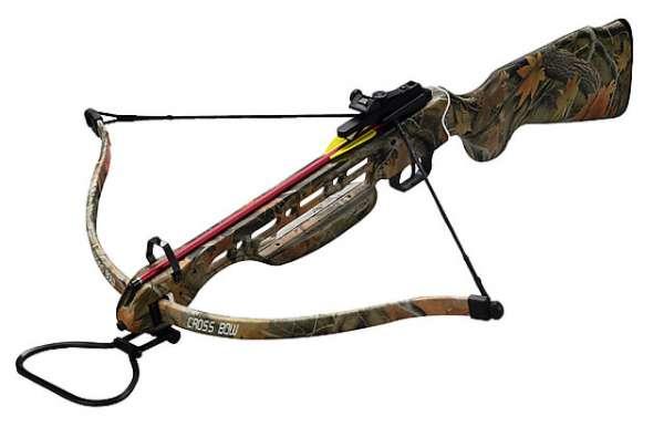 Armbrust Recurve Big Elk II mit Holzschaft 150lbs Set
