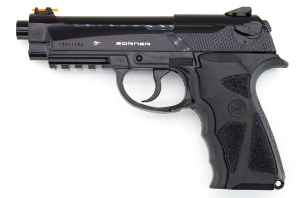 Borner Sport 306 P CO2 Pistole BB Gun Air Pistol, 4,5mm (.177) Stahlrundkugeln