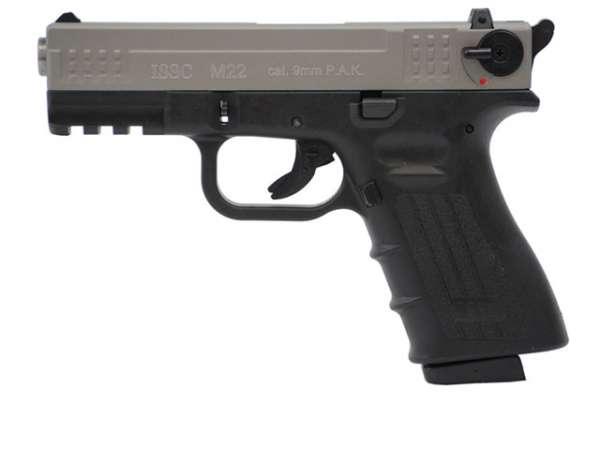 ISSC M22 Schreckschusspistole / Gaspistole titan 9 mm P.A.K.
