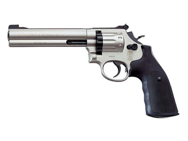 "Smith & Wesson Mod. 686, 6"", vernickelt"