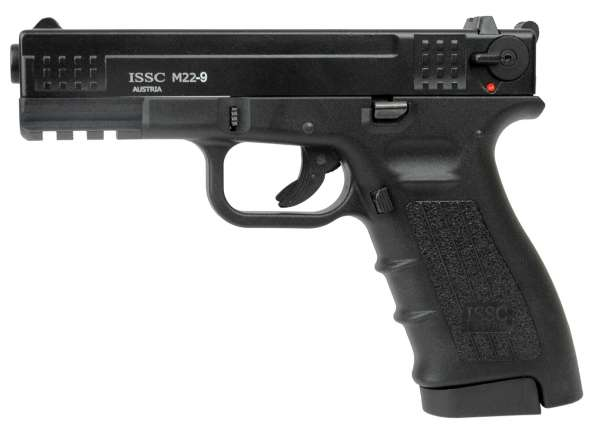 ISSC CEONIC M22-9 Schreckschusspistole / Gaspistole 9 mm P.A.K. Schwarz