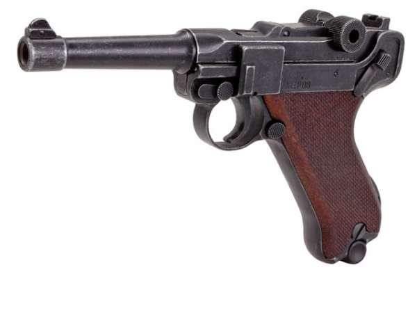 Schreckschusspistole ME Mod. P08 9mm P.A.K. Antik Look