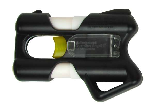 Pfefferspray Abwehrgerät / Abschussgerät Guardian Angel III schwarz