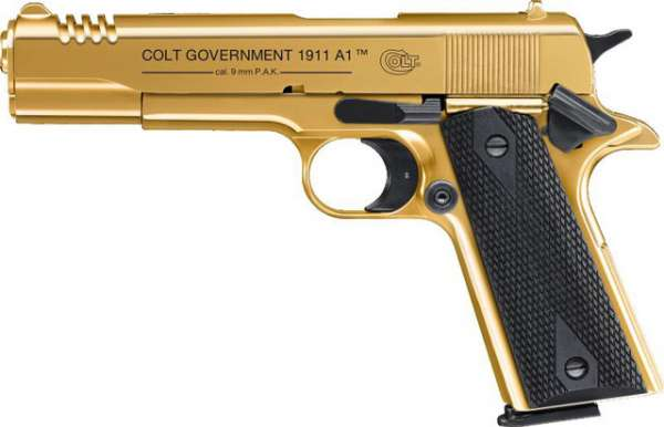 Colt Government 1911 A1, Gold Rush Edition, Gaspistole