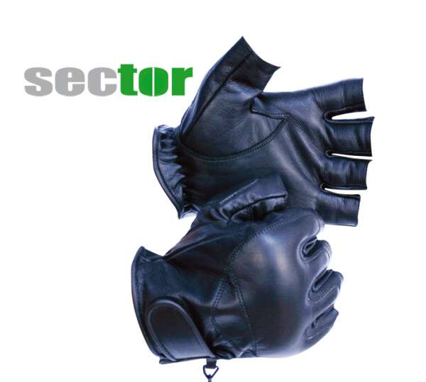 Sector Schlagschutzhandschuhe mit Metallstaub
