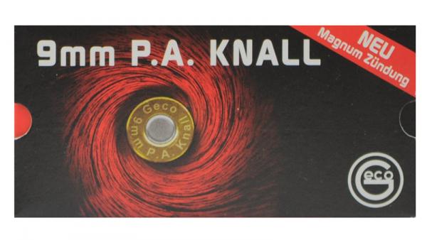 Platzpatronen Geco 9mm P.A.K. 50 St.