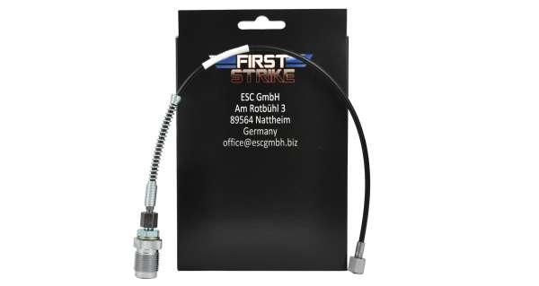 Frist Strike Pressluft DIN Adapter mit 450mm Schlauch
