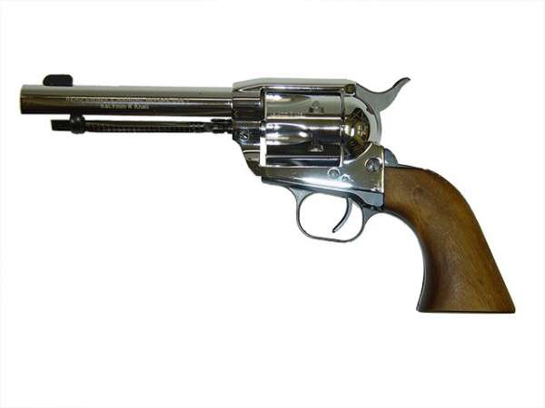Weihrauch Western Revolver, chrom