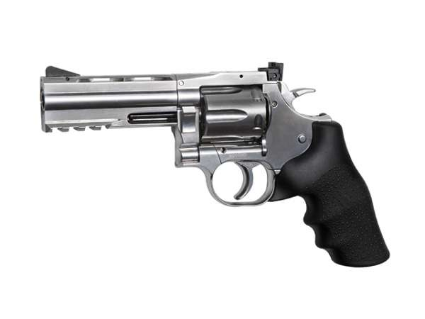 "Dan Wesson 715 4"" CO2 NBB silber"