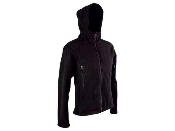 Fleece Jacke Tactical Gr. XL schwarz
