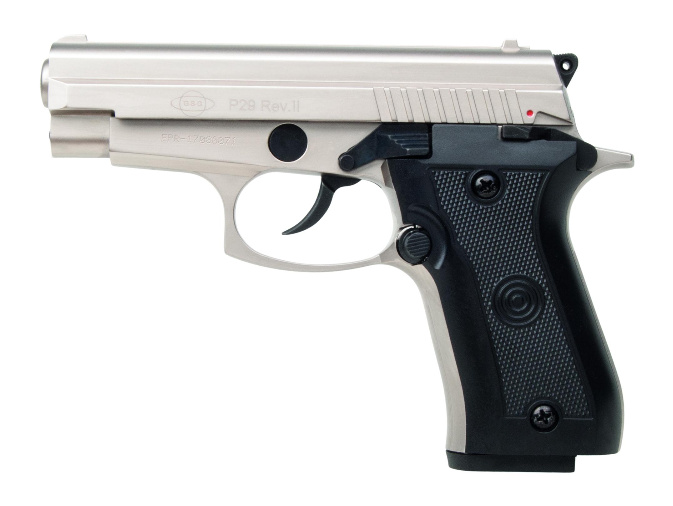 schreckschusspistole ekol p29 rev ii 9mm p a k nickel. Black Bedroom Furniture Sets. Home Design Ideas
