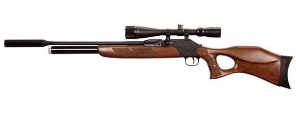 Luftdruck Gewehr Diana P1000S TH LG m. Schalldämpfer 4,5mm Pressluft