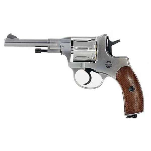 Gletcher NGT Silver CO2 Revolver 4,5mm BB