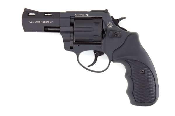 """Zoraki R2 3"""" Schreckschuss Revolver Kaliber 9 mm R.K. brüniert schwarz"""