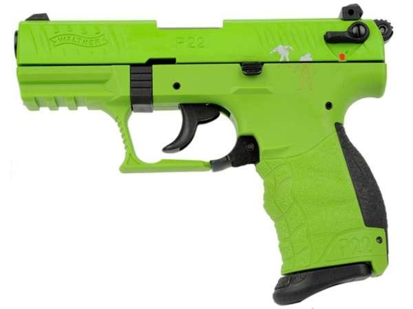 WALTHER P22Q Schreckschuss Pistole Gas Signal Alarm Pistole Kaliber 9 mm P.A.K. Zombster