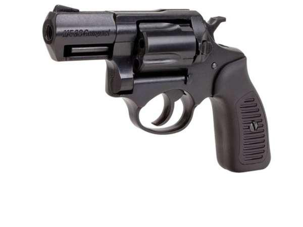 Schreckschussrevolver ME 38 Compact 9mm R Knall brüniert