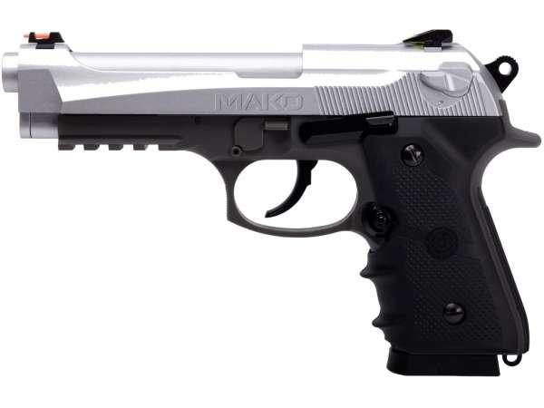 Crosman CO² Pistole Modell Mako Schwarz/ mit Metallschlitten 4,5 mm BB