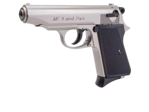 Schreckschusspistole ME 9 Para 9mm P.A.K. matt vernickelt