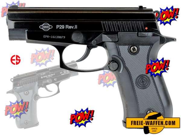 EKOL P29 REV. II Schreckschusspistole 9mm PAK schwarz geprüfte B-Ware
