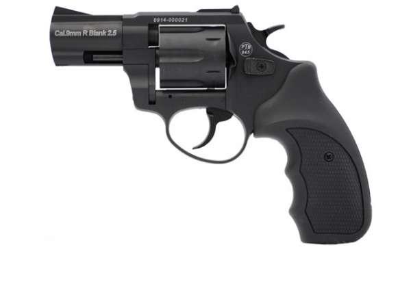 """Zoraki R1 Schreckschussrevolver 9mm R.Kn. 2,5"""" schwarz"""