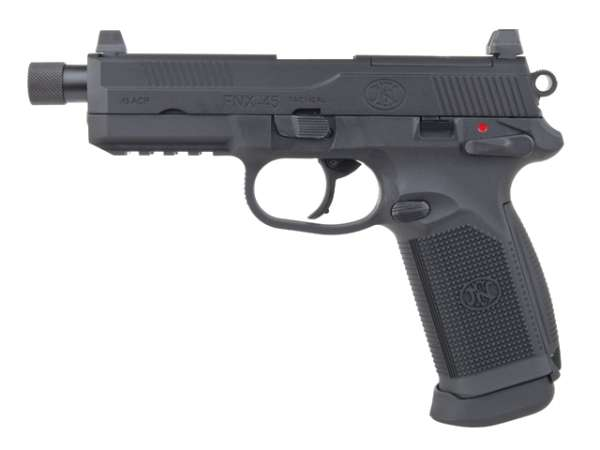 FNX-45 Tactical GBB Softair Pistole, Gas Blow Back, Kal. 6mm BB, > 0.5 Joule, ab 18 Jahren