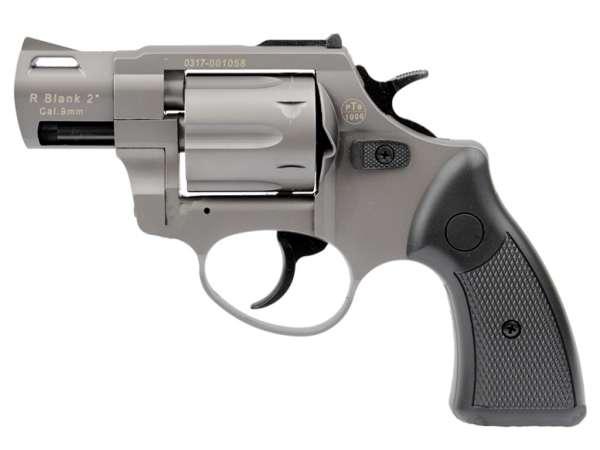 ZORAKI R2 2 Zoll Schreckschuss Gas Signal Revolver Kaliber 9 mm R.K. titan