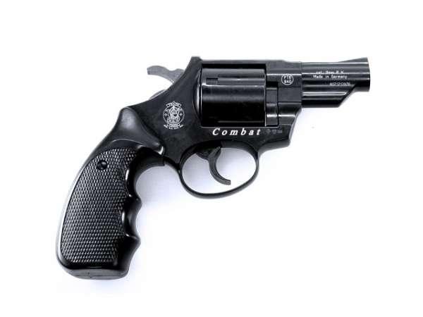 Smith&Wesson Combat Gas Revolver brüniert