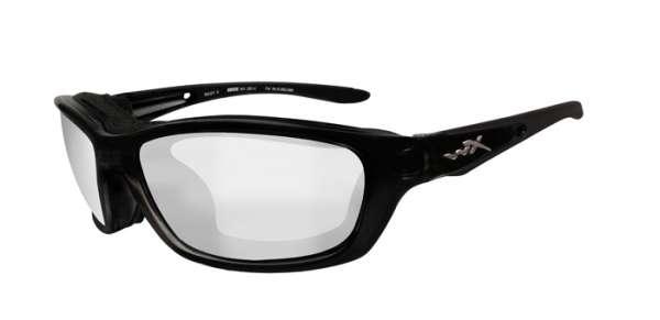 WileyX Brick R: glänzend schwarz