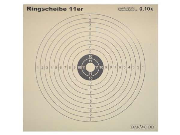Zielscheiben 11er Ringeinheiten 50 St.