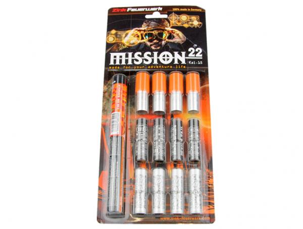 Mission 22 Sortiment 22teilig - 15mm Pyrotechnik