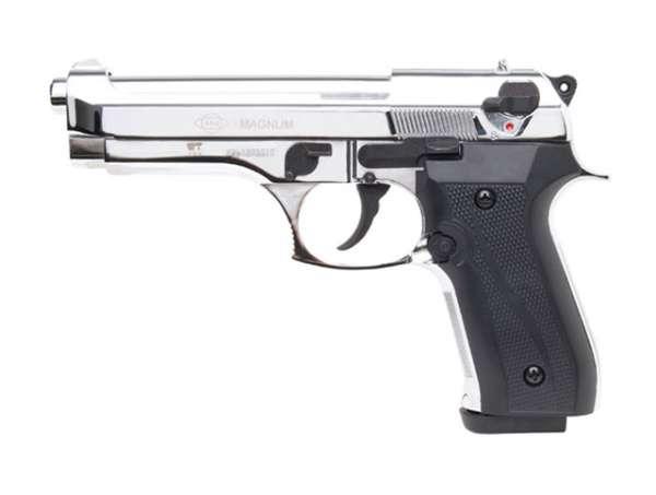 GSG Magnum Schreckschusspistole / Gaspistole, chrom