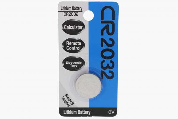 3 Volt Lithium Batterie CR 2032
