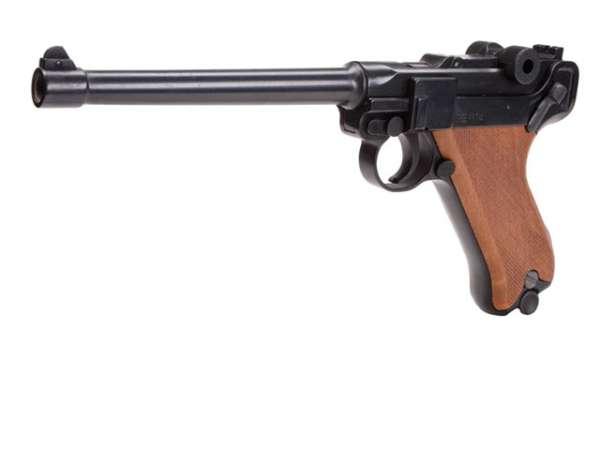 Schreckschusspistole ME Mod. P04 9mm P.A.K. brüniert