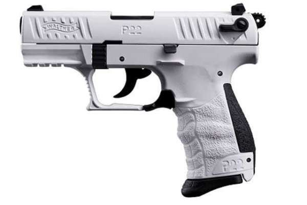Walther P22Q, cal. 9 mm P.A.K., White Edition