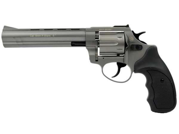 ZORAKI R1 6 Zoll Schreckschuss Gas Signal Revolver Kaliber 9 mm R.K. titan