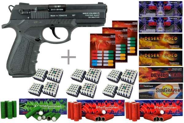 Zoraki 2918 Schreckschuss Pistole 9 mm P.A.K brüniert
