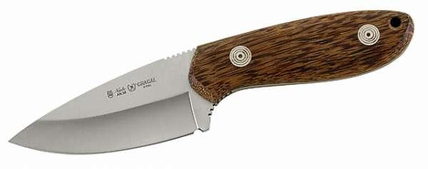 Nieto Gürtelmesser, Stahl AN.58, Palmwood, Scheide