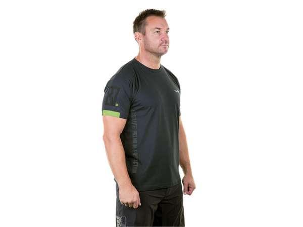 WX Active T-Shirt Herren Gr. L anthrazit/grün