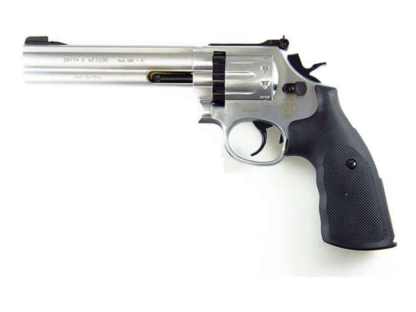 "Smith & Wesson Mod. 686-6 ""Steel Finish"" - CO2 Revolver"