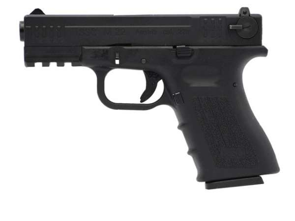 Softair Pistole ISSC M22 schwarz Gas Blow Back